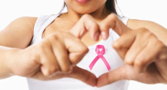лента в поддержку женщин с раком груди