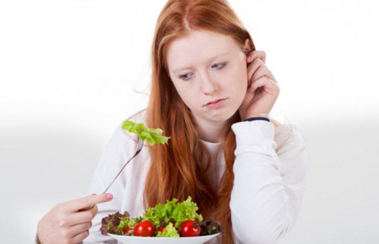 Снижение аппетита