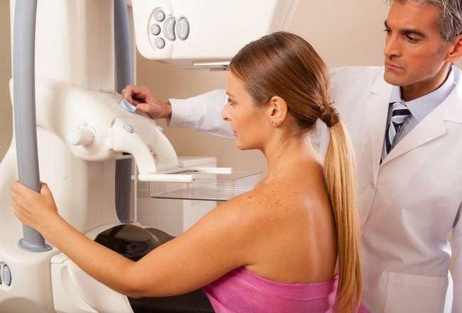 Обследование рака груди