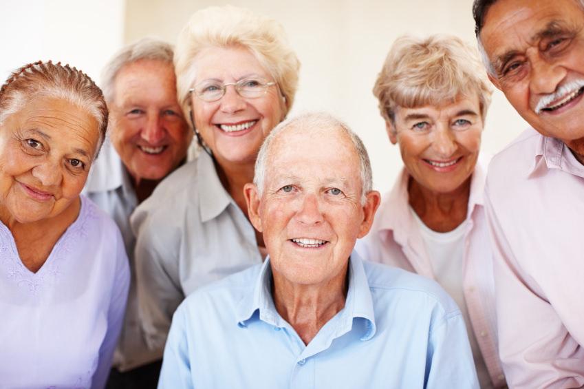 Люди старше 55 лет