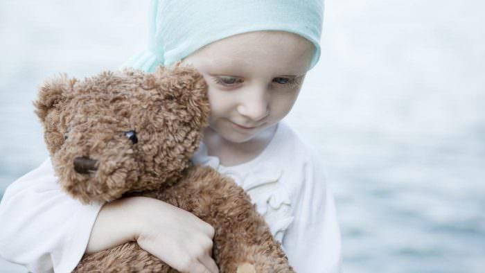 Ребенок с раком