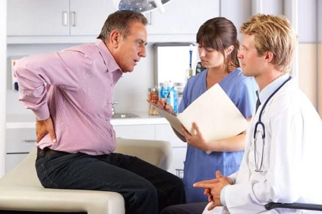 Пациент на диагностике