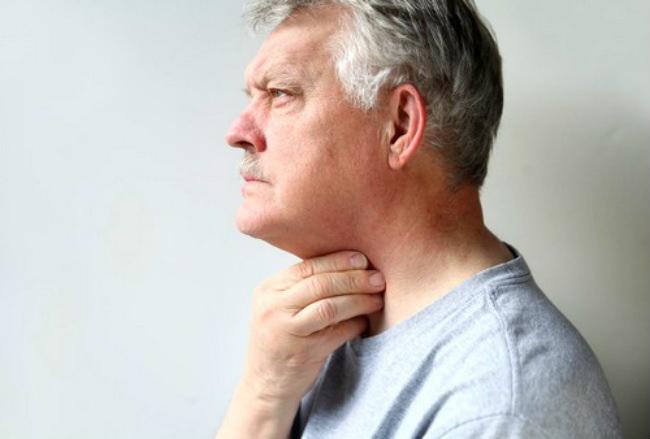 человек с раком щитовидки