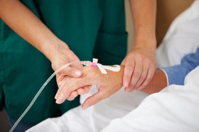 химиотерапия капельница