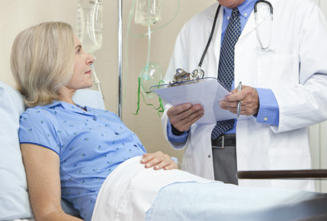 первая химиотерапия у пациентки