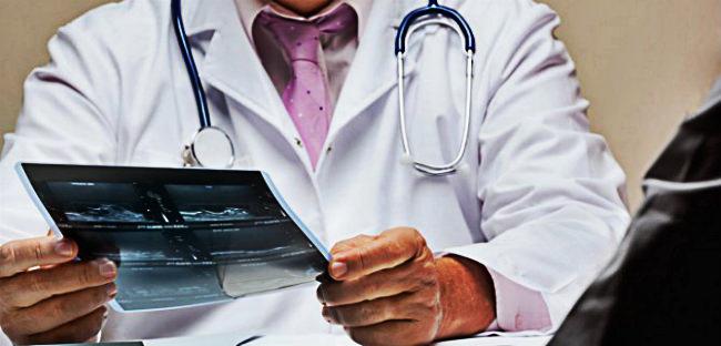 срач онколог со снимком