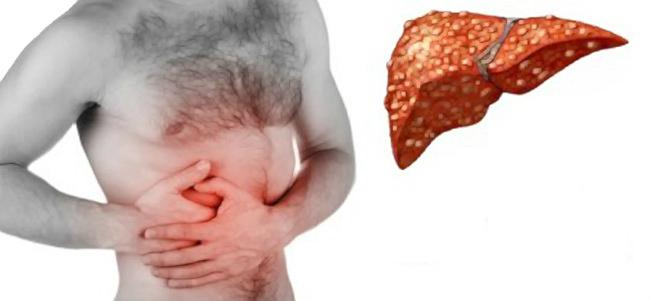 рак печени и боль