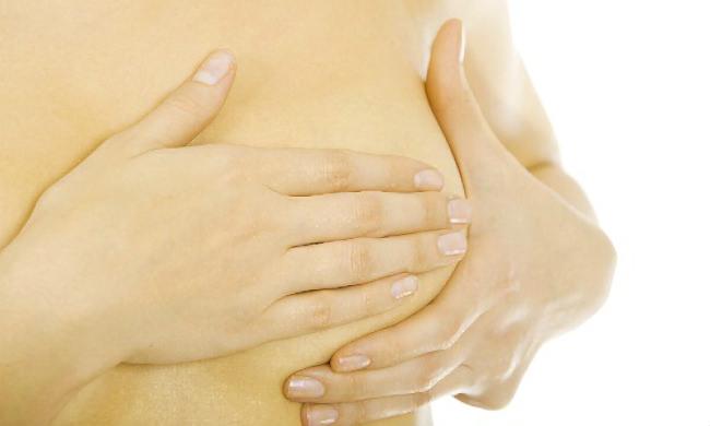 ощупывание молочной железы