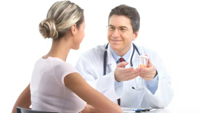 пациентка и маммолог