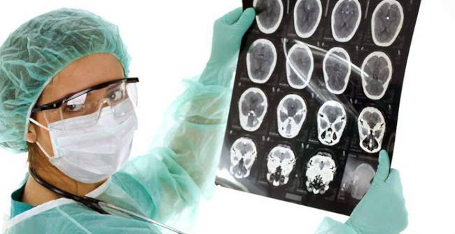 онколог и КТ мозга