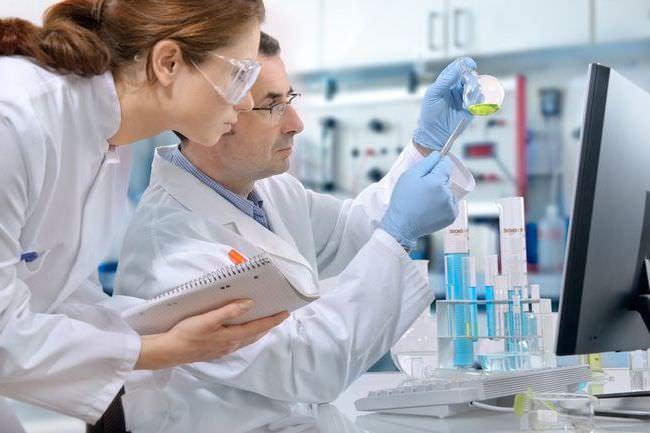Проведение анализа в лаборатории