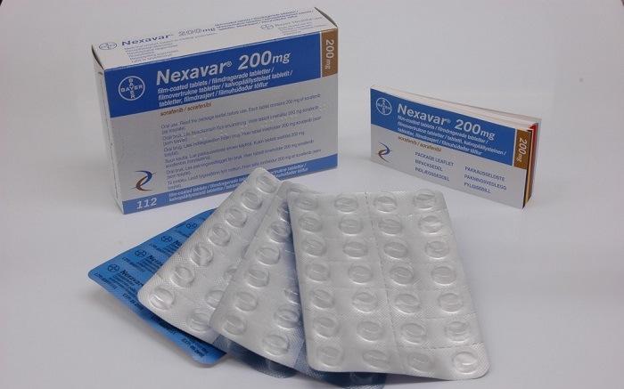 Нексавар таблетки