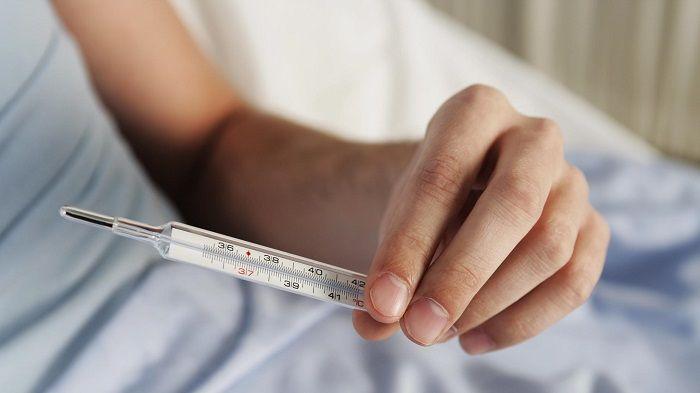 Повышение показателей температуры тела