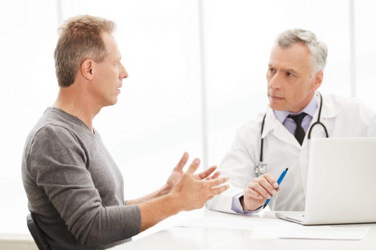 Диалог пациента и доктора