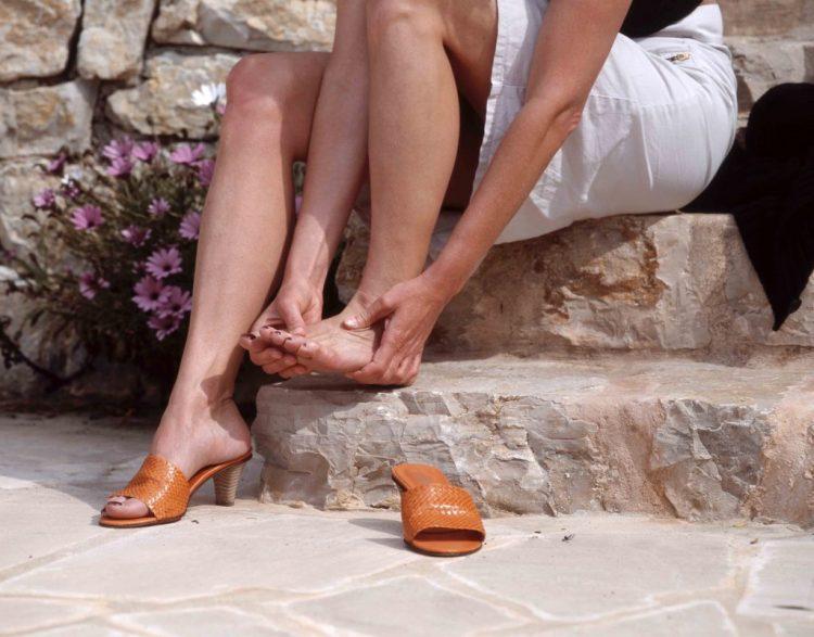 Натертые ноги