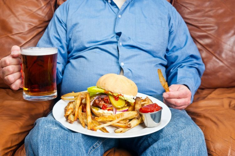 Злоупотребление вредной едой