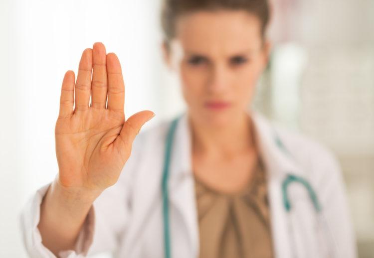 доктор запрещает