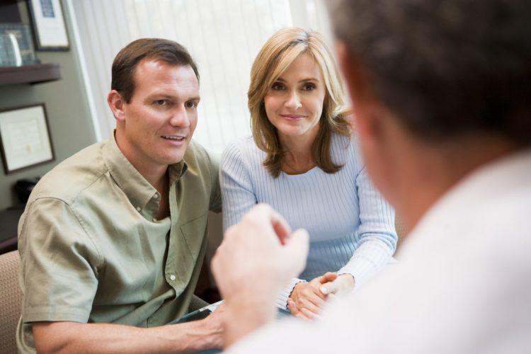 консультация пары доктором