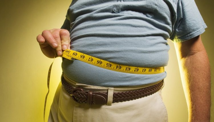 Чрезмерный вес мужчины