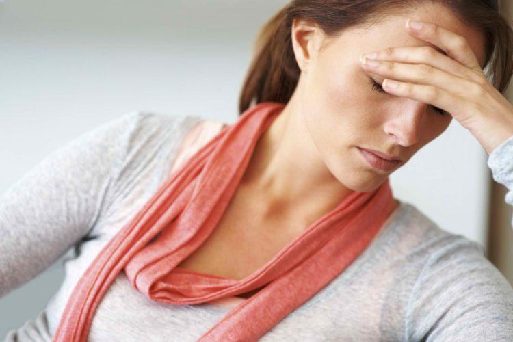 нарушение гормонального баланса