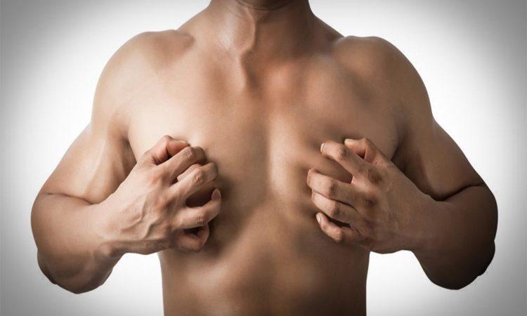 Увеличиваются молочные железы