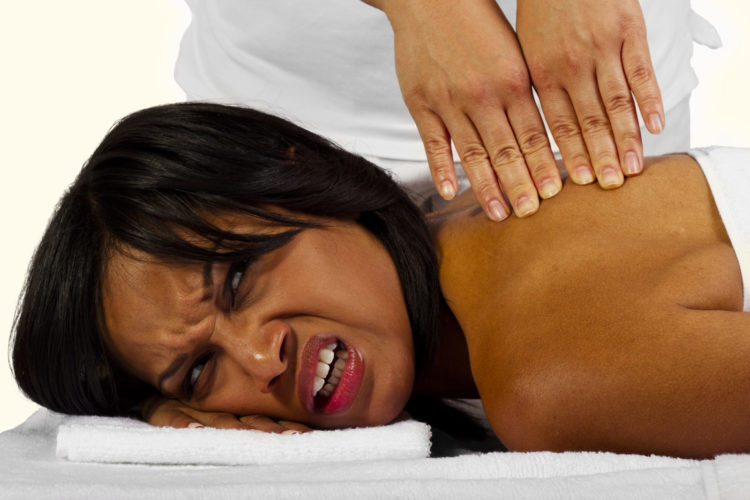 грубый массаж
